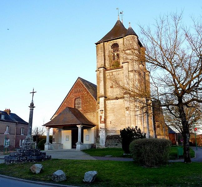 Photo du Monument Historique Eglise situé à Le Thuit-Signol