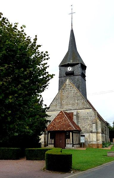 Photo du Monument Historique Eglise situé à Tilleul-Dame-Agnès
