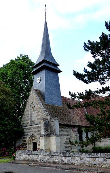 Photo du Monument Historique Eglise situé à Tilleul-Othon (Le)