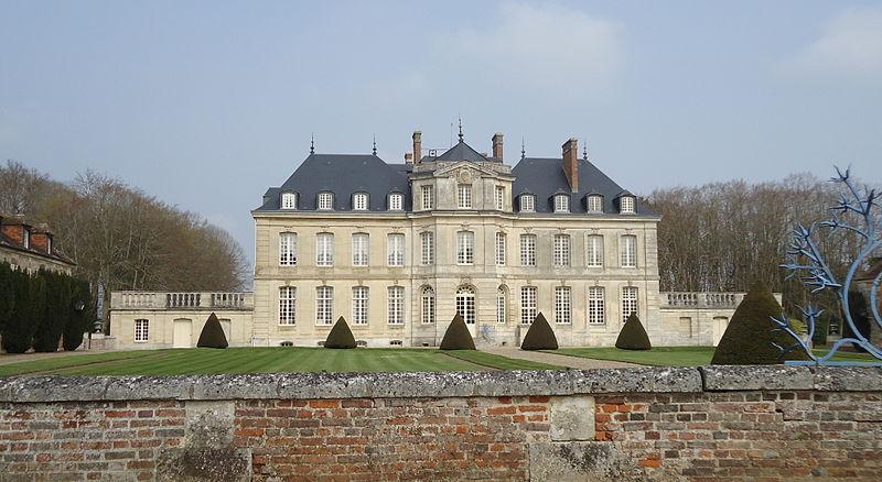 Photo du Monument Historique Château d'Omonville situé à Le Tremblay-Omonville