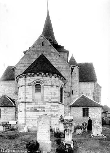 Photo du Monument Historique Eglise de Notre-Dame du Vaudreuil situé à Le Vaudreuil