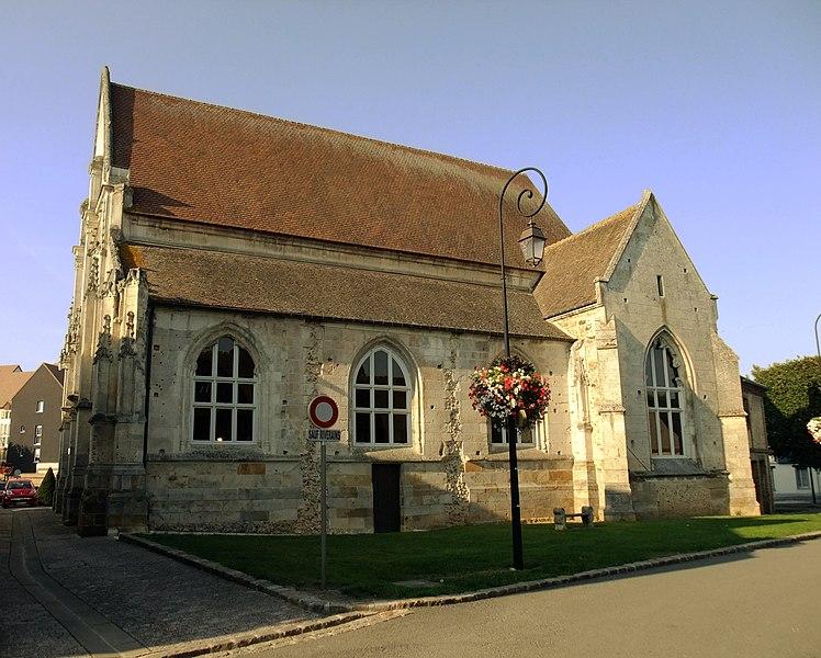 Photo du Monument Historique Ancienne église Saint-Laurent situé à Verneuil-sur-Avre