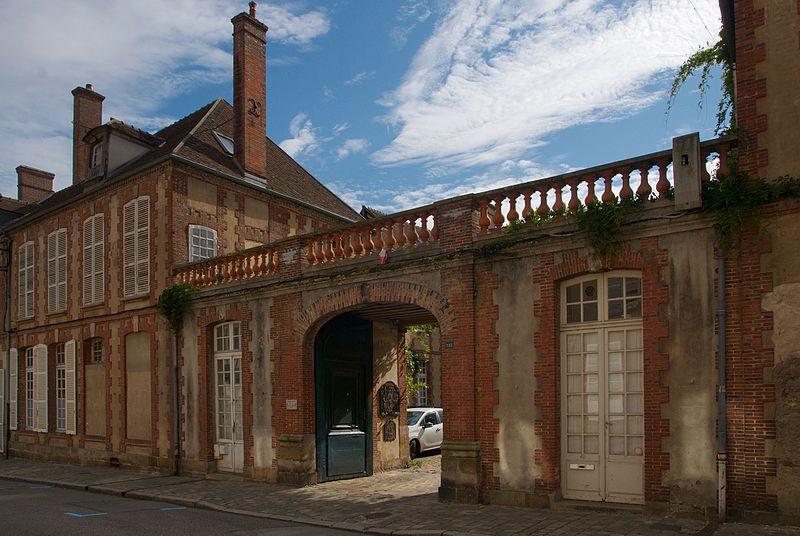 Photo du Monument Historique Ancien hôtel de la Pilhallière situé à Verneuil-sur-Avre