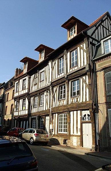 Photo du Monument Historique Maison situé à Verneuil-sur-Avre