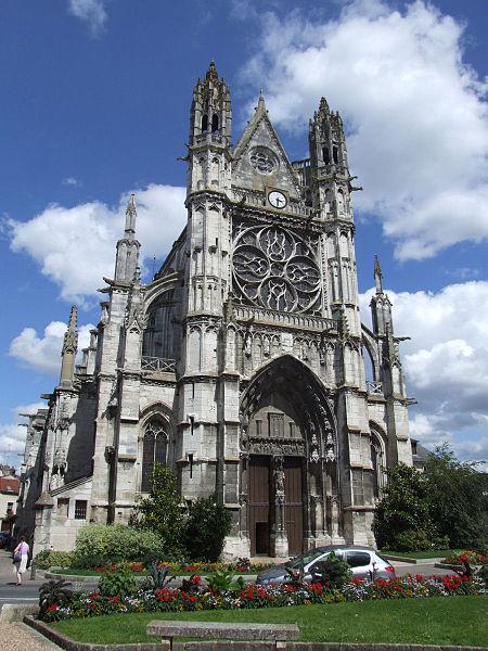 Photo du Monument Historique Eglise Notre-Dame, actuellement collégiale situé à Vernon
