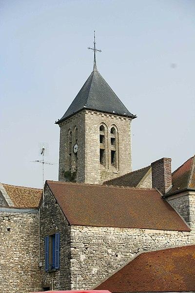 Photo du Monument Historique Eglise Saint-Nicolas situé à Villiers-en-Désoeuvre