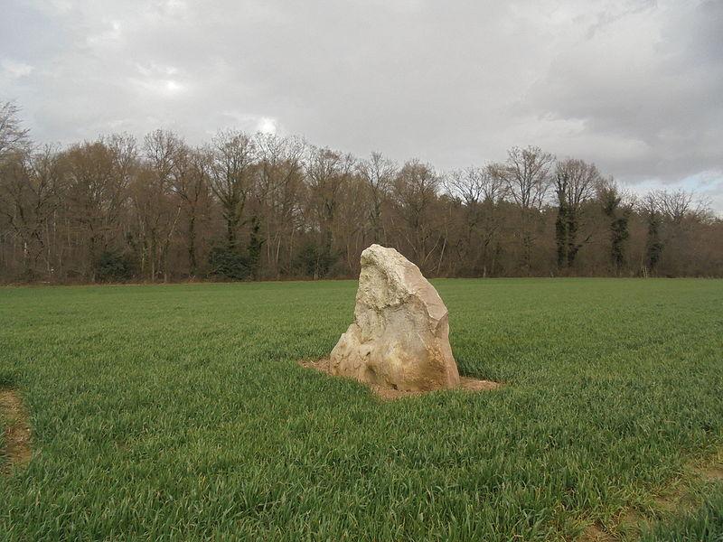 Photo du Monument Historique Menhir du Croc situé à Serquigny