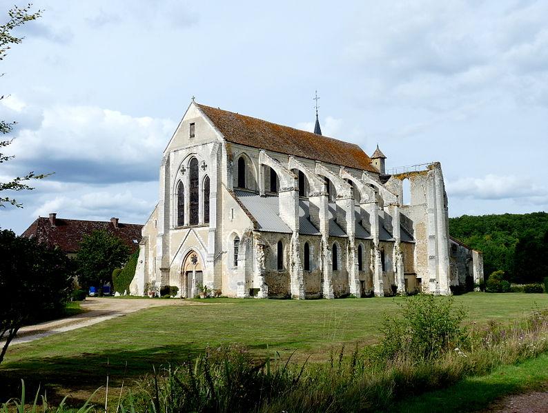 Photo du Monument Historique Abbaye du Breuil-Benoît situé à Marcilly-sur-Eure