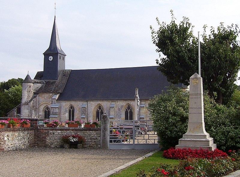 Photo du Monument Historique Ancienne abbaye Notre-Dame situé à Corneville-sur-Risle