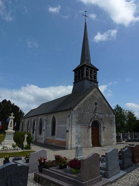Photo du Monument Historique Eglise Saint-Léger situé à Saint-Léger-de-Rôtes