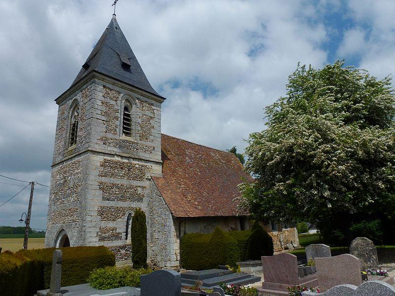 Photo du Monument Historique Eglise Saint-Pierre situé à Saint-Léger-de-Rôtes