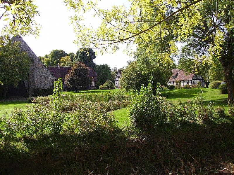 Photo du Monument Historique Manoir de Pommereuil situé à Sainte-Marthe
