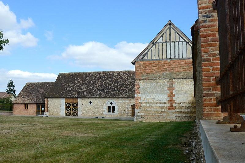Photo du Monument Historique Léproserie dite maladrerie Saint-Nicolas situé à Gravigny