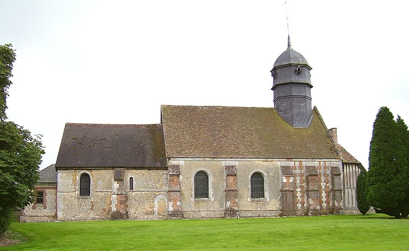 Photo du Monument Historique Eglise Saint-Cyr et Sainte-Julitte situé à Brétigny