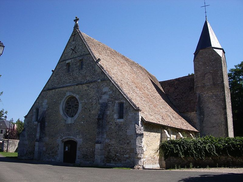 Photo du Monument Historique Eglise paroissiale Saint-Martin situé à Chambray