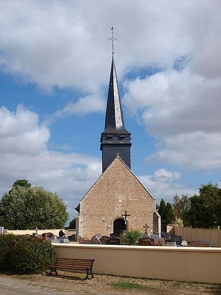 Photo du Monument Historique Eglise Saint-Martin situé à Moisville