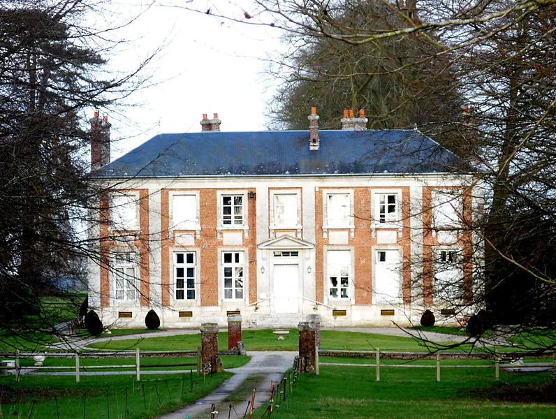 Photo du Monument Historique Domaine de la Tuilerie situé à Cauverville-en-Roumois