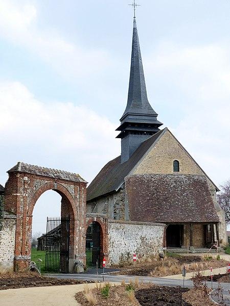 Photo du Monument Historique Eglise paroissiale Saint-Martin situé à Coudres