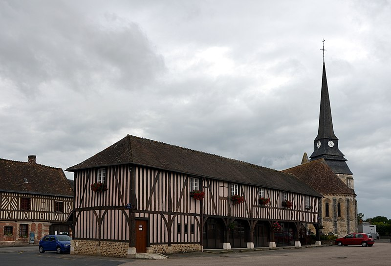 Photo du Monument Historique Mairie situé à Harcourt