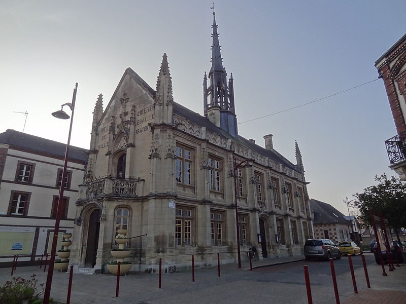 Photo du Monument Historique Mairie situé à Breteuil