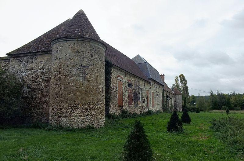 Photo du Monument Historique Manoir dit ferme de Vaux situé à Gisors