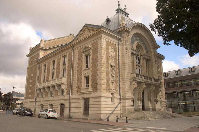 Photo du Monument Historique Théâtre municipal situé à Evreux