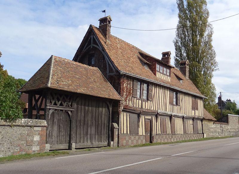 Photo du Monument Historique Ancienne auberge du Grand Chouquet Royal, dite aussi auberge du Pérou situé à Caumont