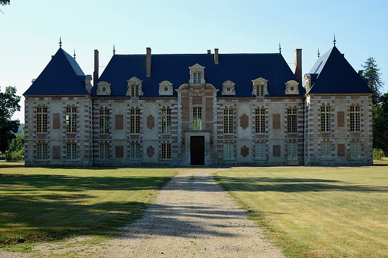 Photo du Monument Historique Ancienne abbaye ou château de La Croix-Saint-Leufroy situé à La Croix-Saint-Leufroy