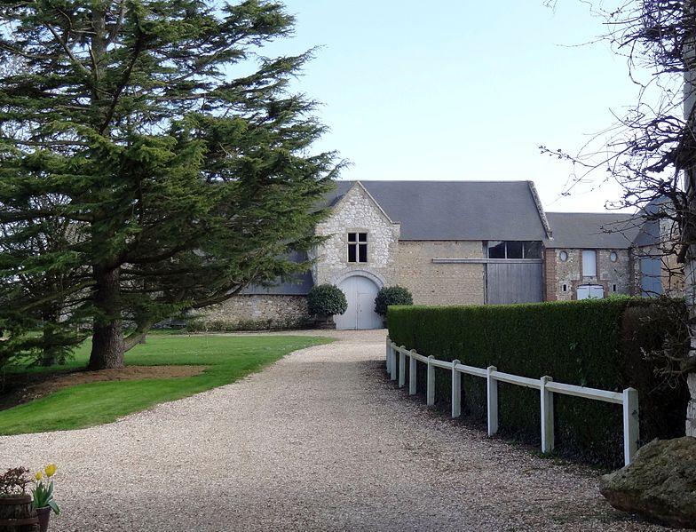 Photo du Monument Historique Manoir de Gauciel situé à Gauciel