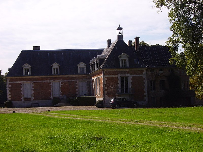 Photo du Monument Historique Château de la Mésangère (également sur commune de Saint-Pierre-du-Bosguérard) situé à Bosguérard-de-Marcouville