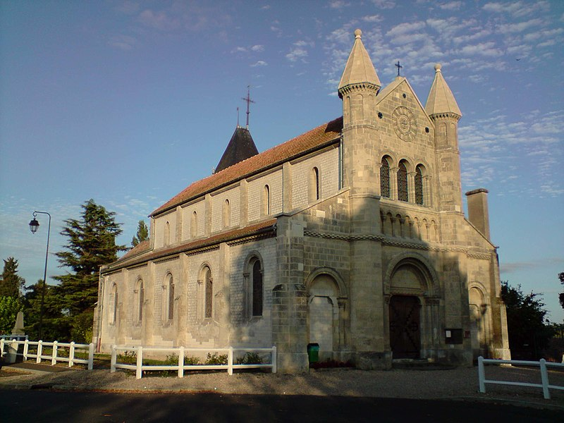 Photo du Monument Historique Eglise paroissiale Saint-Hilaire situé à Muids