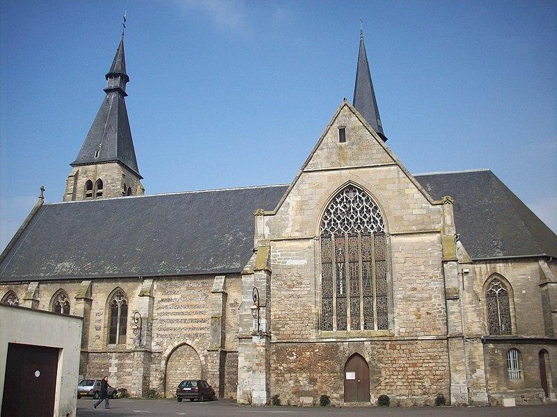 Photo du Monument Historique Eglise Saint-Gervais - Saint-Protais situé à Etrépagny