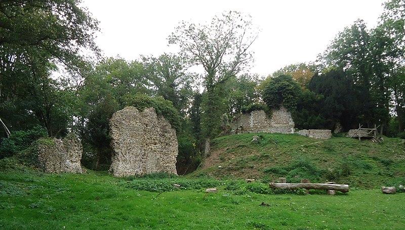Photo du Monument Historique Château médiéval situé à Avrilly
