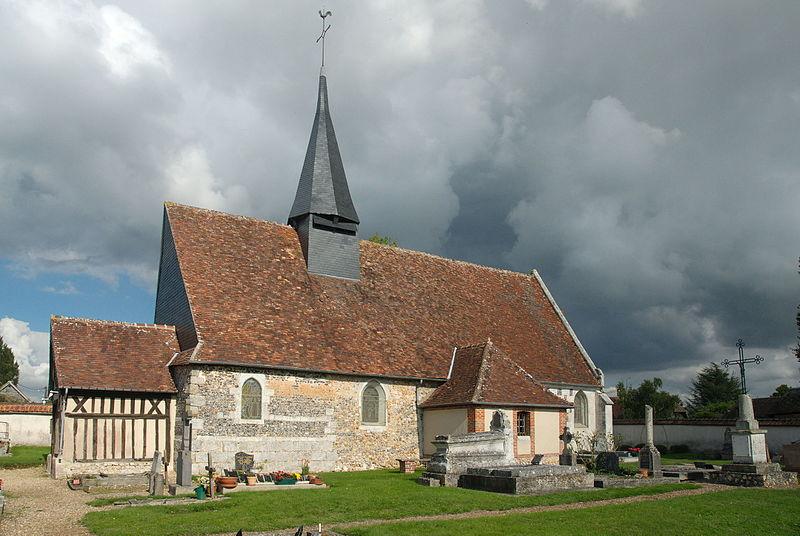 Photo du Monument Historique Eglise Notre-Dame situé à Champ-Dolent