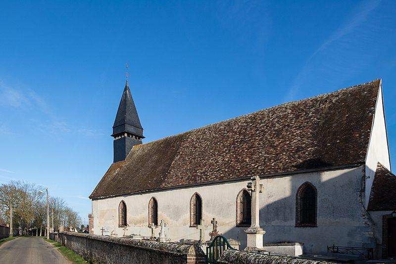Photo du Monument Historique Eglise Sainte-Marie-Madeleine situé à Mesnil-sur-l'Estrée
