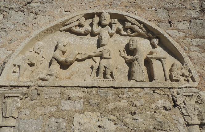 Photo du Monument Historique Ancienne église situé à Allaines-Mervilliers