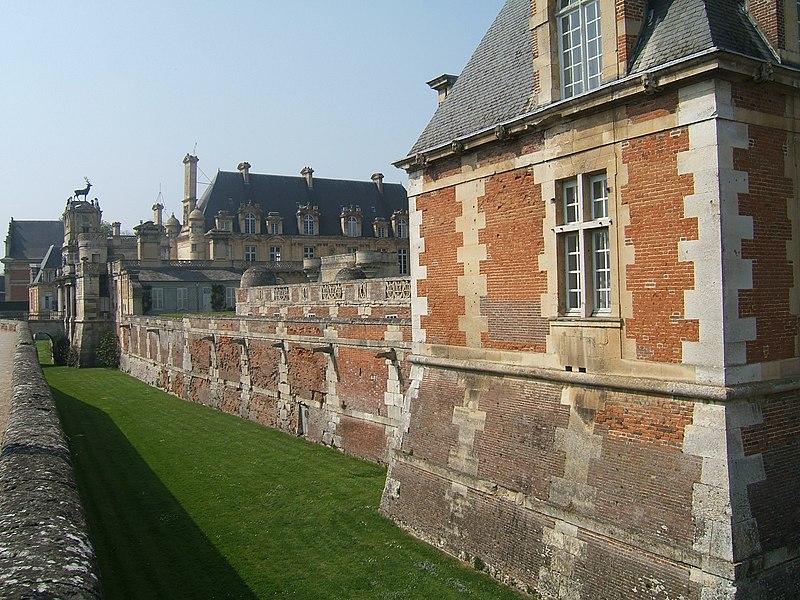 Photo du Monument Historique Château d'Anet situé à Anet