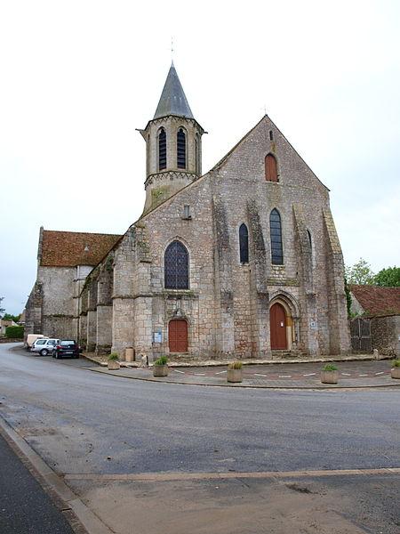 Photo du Monument Historique Eglise Saint-Eloi situé à Aunay-sous-Auneau