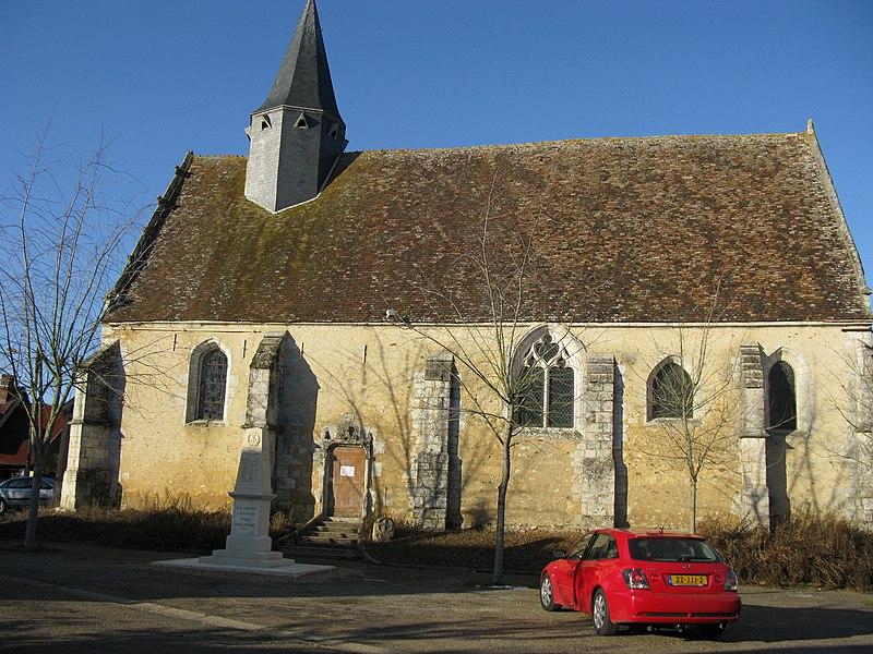 Photo du Monument Historique Eglise Saint-Avit situé à Autheuil
