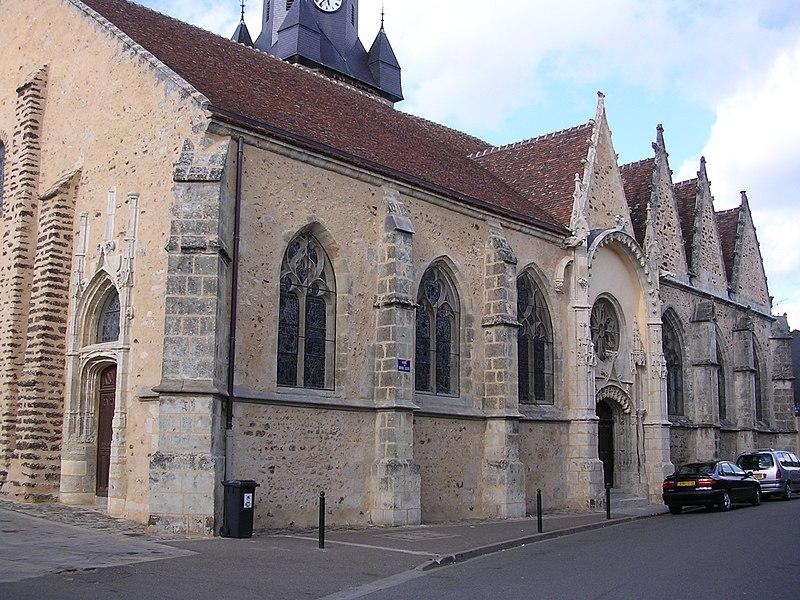 Photo du Monument Historique Eglise Saint-Jean-Baptiste situé à La Bazoche-Gouet
