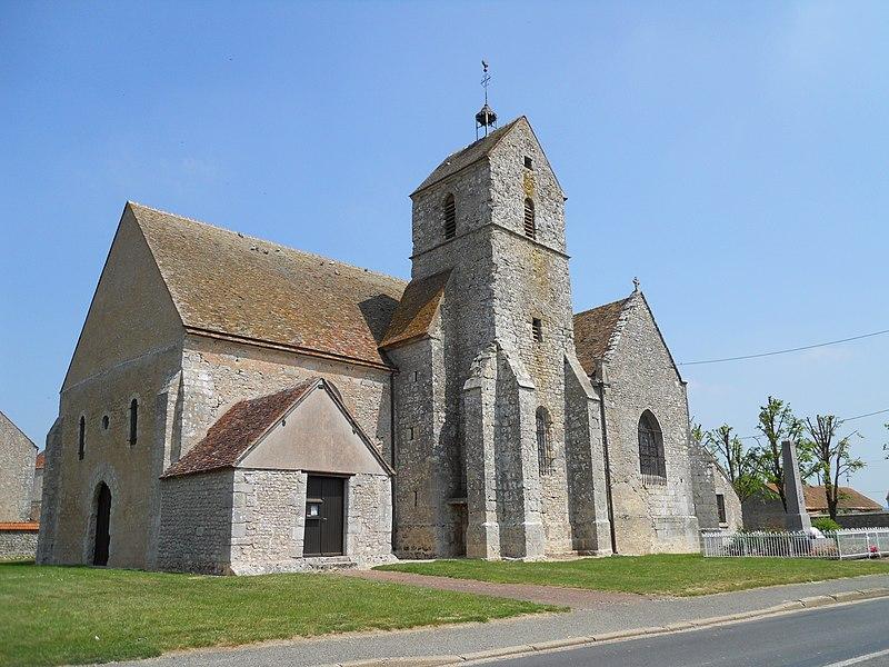 Photo du Monument Historique Eglise Saint-Martin situé à Beauvilliers