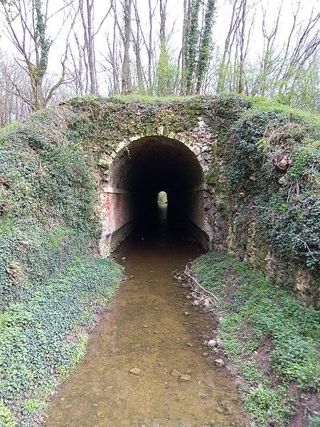 Photo du Monument Historique Ancien aqueduc de Pontgouin à Versailles (également sur communes de Maintenon et Pontgouin) situé à Berchères-Saint-Germain