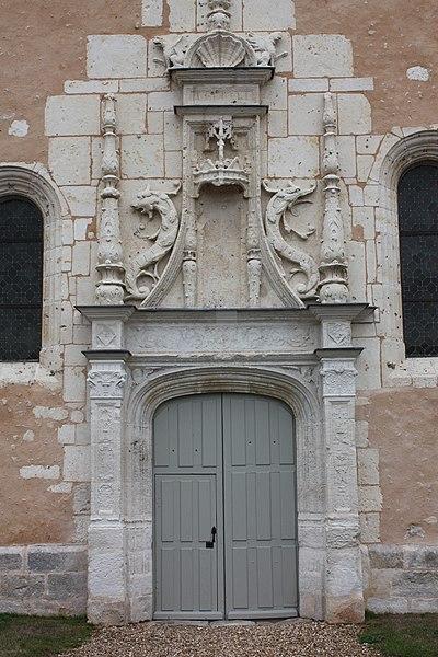 Photo du Monument Historique Eglise Notre-Dame situé à Boissy-en-Drouais