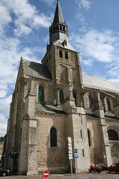 Photo du Monument Historique Eglise Notre-Dame situé à Bonneval