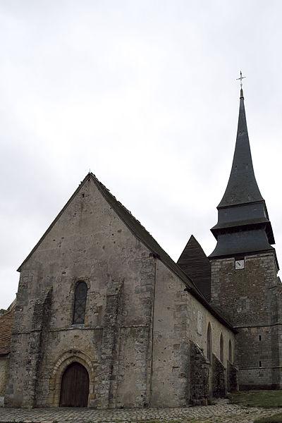 Photo du Monument Historique Eglise Notre-Dame situé à Bû