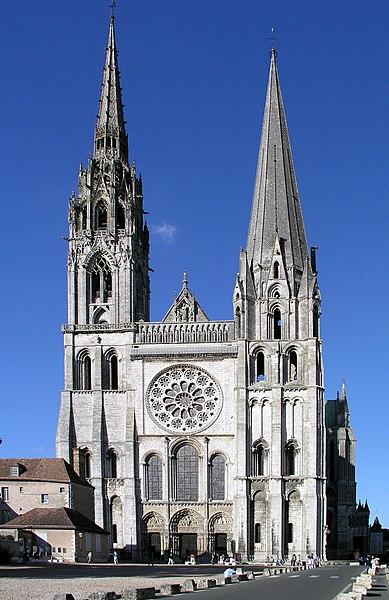 Photo du Monument Historique Cathédrale Notre-Dame situé à Chartres