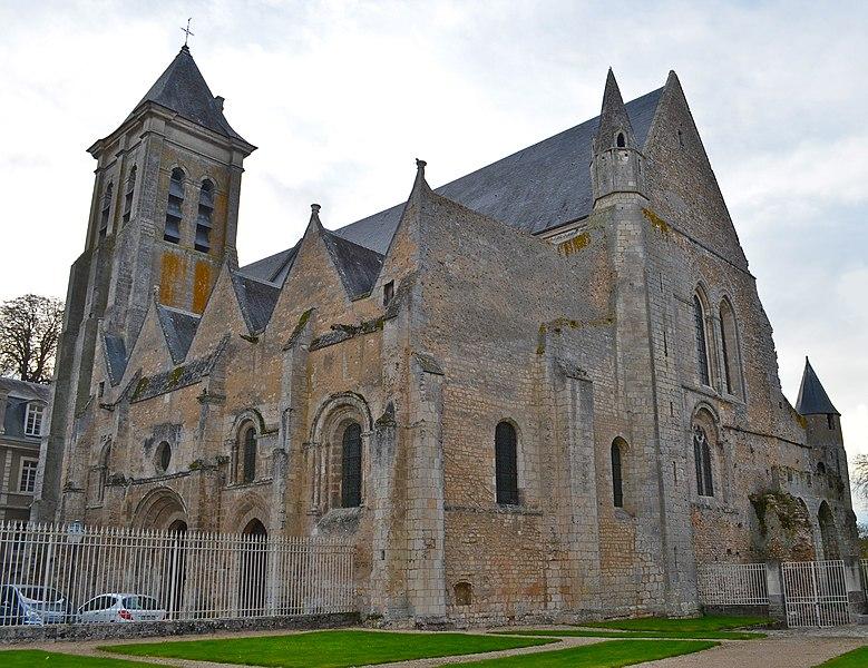Photo du Monument Historique Eglise de la Madeleine situé à Châteaudun