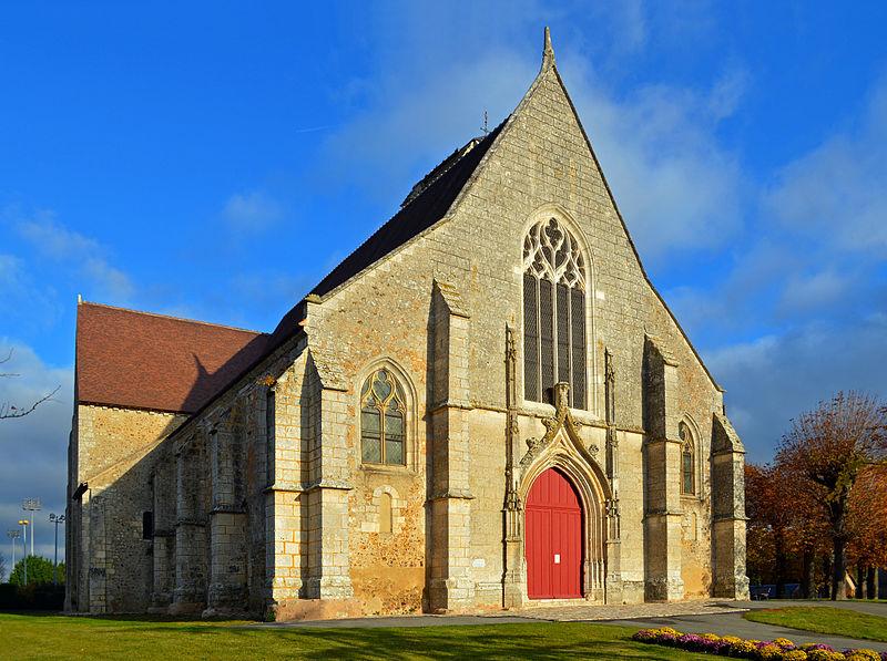 Photo du Monument Historique Eglise Saint-Jean-de-la-Chaîne situé à Châteaudun