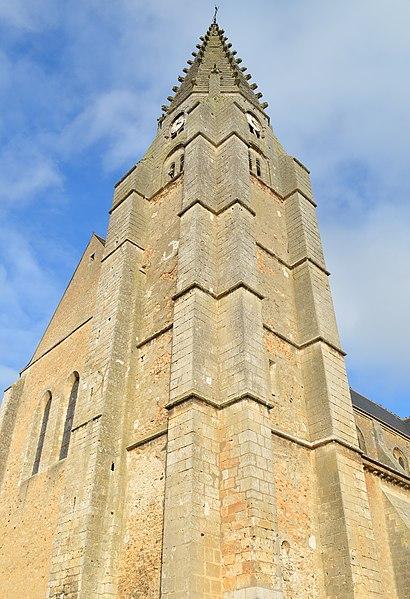 Photo du Monument Historique Eglise Saint-Valérien situé à Châteaudun