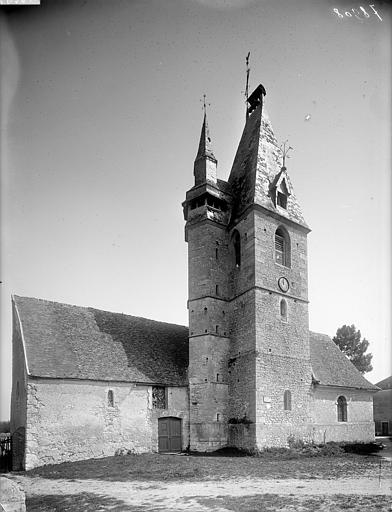 Photo du Monument Historique Eglise Saint-Blaise situé à La Chaussée-d'Ivry